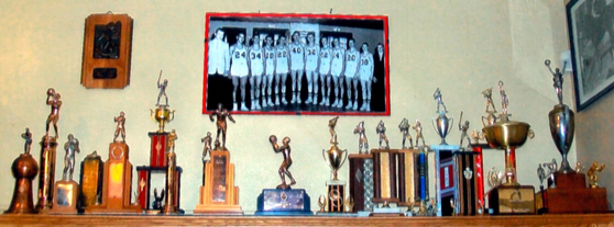 Trophy Exhibit of Pittsford Historical Society 1945 - 1990
